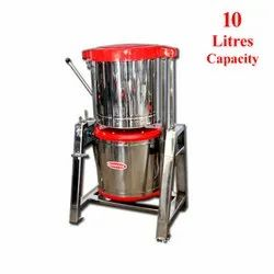 10 Litres Capacity Commercial Tilting Wet Grinder Heavy A Type