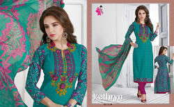 Party Wear Printed Salwar Suits