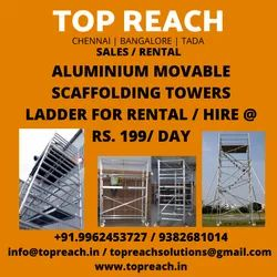 Aluminium Scaffold Hire, Industrial