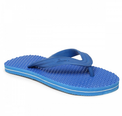 a054d27be Men Paragon Blue Health Rubber Slipper, Rs 110 /pair, Ambica Foot ...
