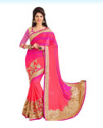 Embroidery Work Sarees
