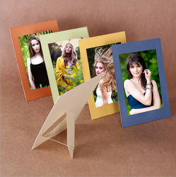Blue And Yellow Paper Photo Frame