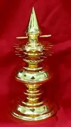 6 inches Gold Plated Kalasam