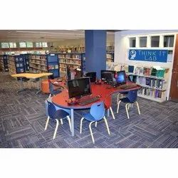 Library Table and Chair Set