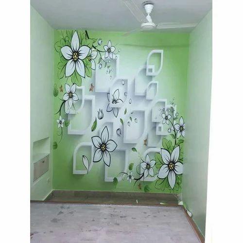 PVC Designer Bathroom Wallpaper