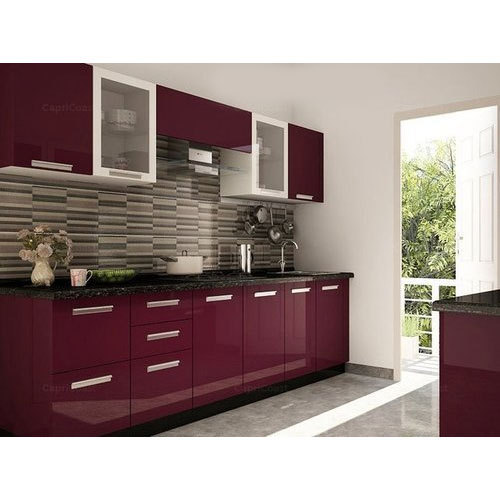 Pvc Modular Kitchen Manufacturer From: Modular Kitchen And Modular Wardrobe Wholesale Trader