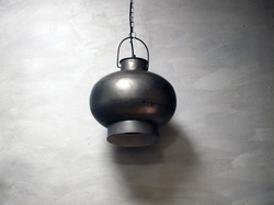 Rounded Industrial Light Lamp