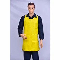 Plain Yellow PVC Safety Apron