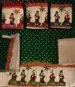 Kutchhi Work Unstitched Salwar Kameez