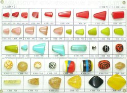 Assorted Resin Beads, Size: Free