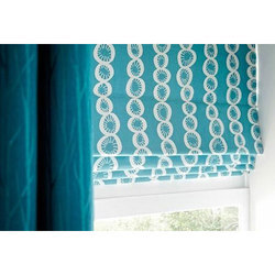 Fabric Horizontal Roman Blind