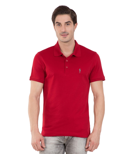 5e435463 Jockey Red Shanghai Red Polo T-shirt, Rs 799 /piece, Landmark Inc ...