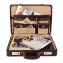 Hammonds Flycatcher Original Bombay Brown Leather Briefcases