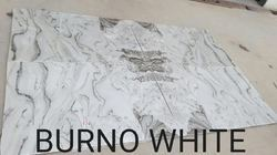 Bruno White Marble Slabs, Usage: Kitchen Top, Countertop, Flooring, Walls, Staircase