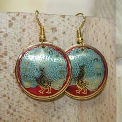 Brass Designer Earrings