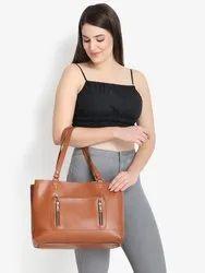 Classic Solid Handbag