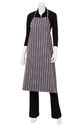 Polyester Striped Chef Long Aprons