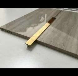 Stainless Steel Square Edge V Grooved L Profile