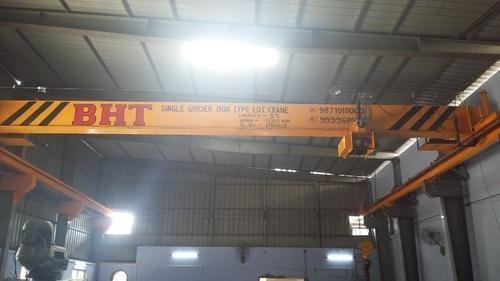 Single Girder Box Type EOT Crane