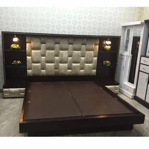 Teak Wood Modern Bedroom Wooden Double Bed Size 6 X 6 Feet Id 14050092430
