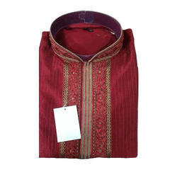 Men's Trendy Plain Kurta, Size: 38 - 44 inch