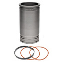 Cylinder Liner With Seals, Rings, Gaskets