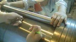 Inspection Of Turbine Shaft