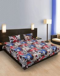 Fancy Floral Cotton Bedsheet