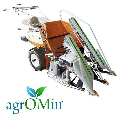 Walking Wheat Agromill Reaper Binder, Model No.: 4K-50