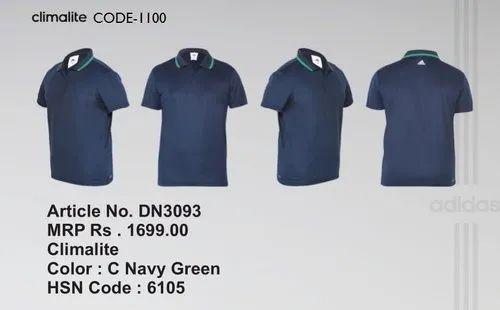 d3887302bed6 C Navy Green Adidas Clima Lite T Shirt