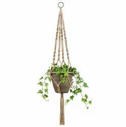 Macrame Cotton Plant Hanger Hanging Planter Basket Pot Hanger
