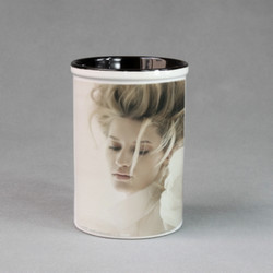 Pencil Holder-Inner Black Mug