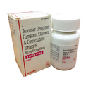 Tenofovir Disoproxil Fumarate Efavirenz and Emtricitabine Tablets IP
