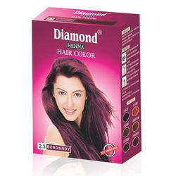 Diamond Burgundy Henna Hair Color