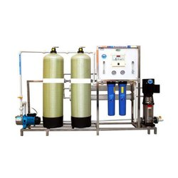 FRP 500 LPH Automatic  RO Plant