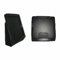 Black Leather Tablet Holder