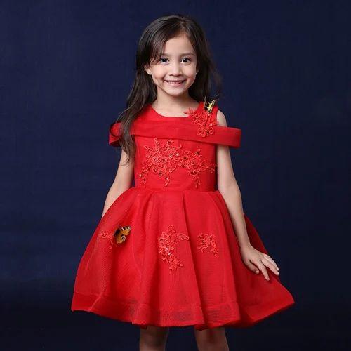981b76862a2ba Charming Red Cold Shoulder Dress