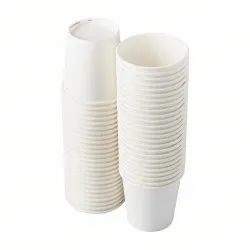 Printed Biodegradable Disposable Glass 190 mL for Restaurants