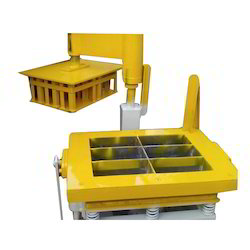 Manual Cement Brick Making Machine