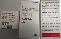 Tafero Tab 30S Pack (Tenofovir Alafenamide)