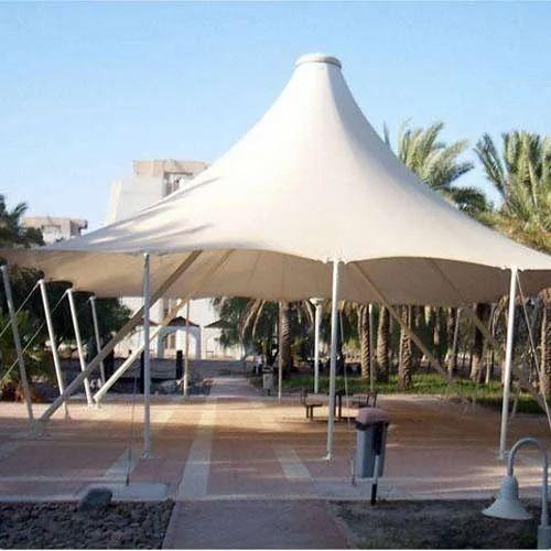 Tensile Membrane Tent पीवीसी की बनी तन्यता झिल्ली तम्बू