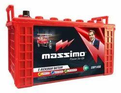 100 Ah Massimo E-Rickshaw Battery