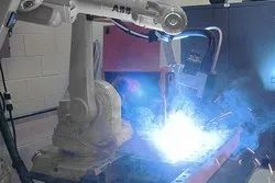 Three Phase ABB MIG Robotic Welding System, Model: IRB 1520ID