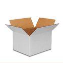 Plain White Corrugated Box