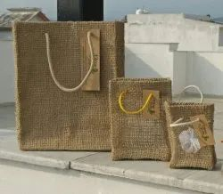Fibres India natural Handmade Jute Gift Bags, Size: Coustomized