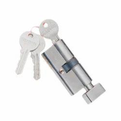 Brass Lever Mortise Knob Door Lock, Nickel