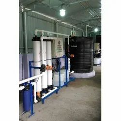 Ultra Water Filtration Plant