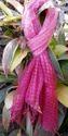 Pink Tye-Dye Handloom Silk Scarf