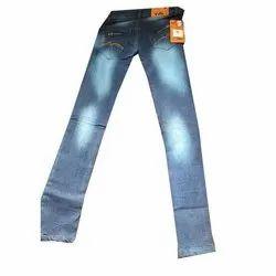 Denim Men Mens Faded Jeans