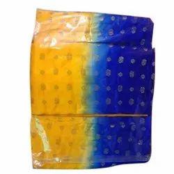 Satin Ladies Designer Unstitched Suit, Handwash, GSM: 200-250